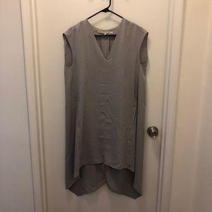 RACHEL Rachel Roy High-Low Sleeveless Sheath dress